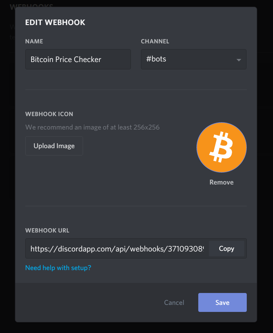 Discord Webhook Tutorial to Check Bitcoin Price with Python | DevDungeon