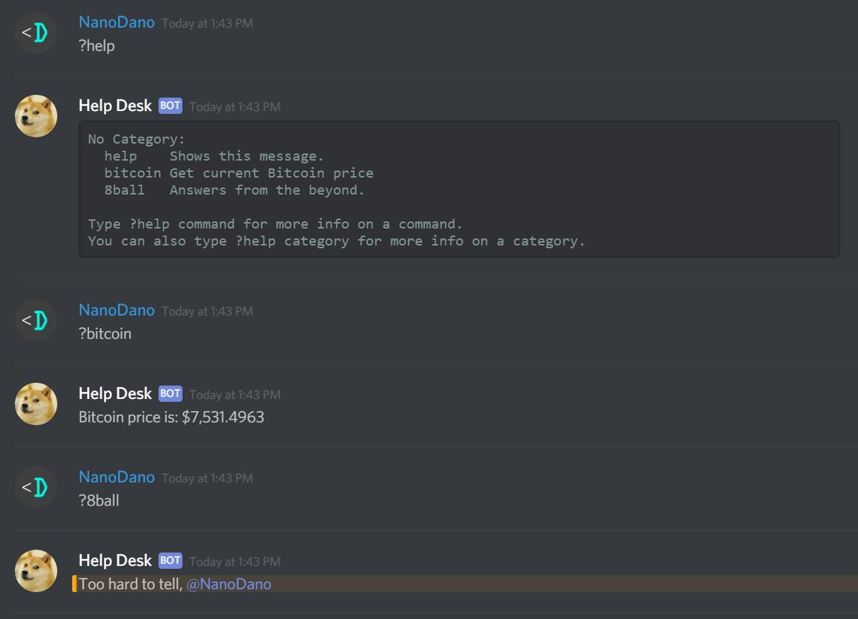 Security Bot Discord